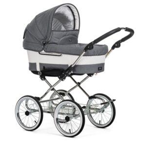 Emmaljunga mondial de luxe lounge grey barnvagn