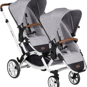 ABC Design Zoom Syskonvagn, Grey