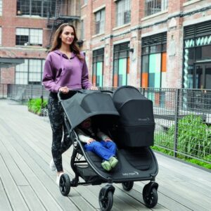 Baby Jogger City Mini GT 2 Double Syskonvagn (Carbon)