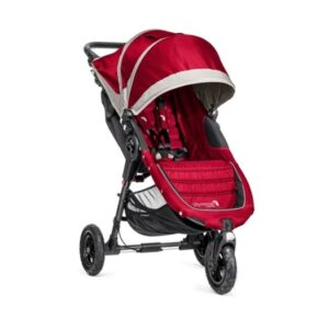 Baby Jogger City Mini GT, röd/grå