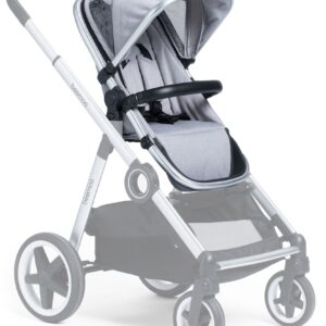 Beemoo Twin Travel+ Syskonsits, Light Grey