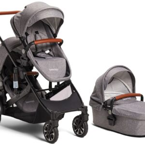 Beemoo Maxi 4 Twin, Grey/Black