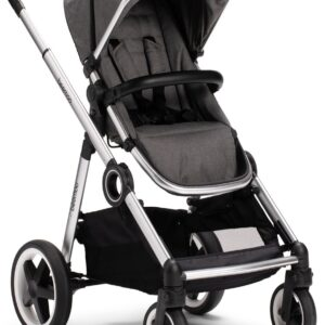 Beemoo Twin Travel+ 2020 Sittvagn, Dark Grey Melange