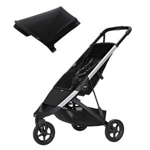 Thule Spring Barnvagn Aluminium/Midnight Black one size