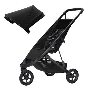 Thule Spring Barnvagn Black/Midnight Black one size